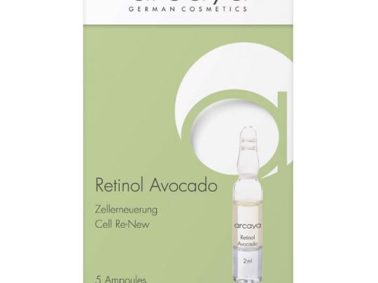 Retinol Avocado Ampulle arcaya