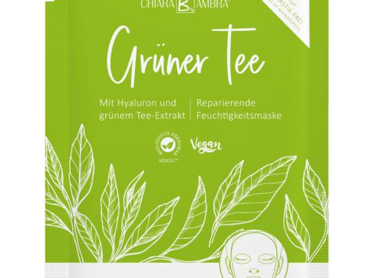 Grüner Tee Tuchmaske Chiara Ambra